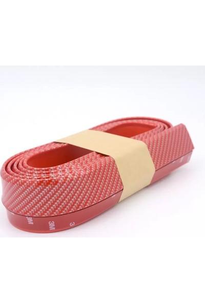 Emn Samuraı Tampon Lipi Yapıştırmalı Yan Bantı Kırmızı Renkli