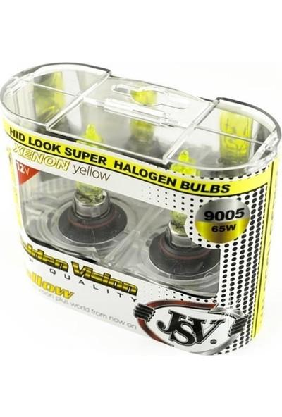 JSV Racing Jsv 9005 Gold Vision Ampul Sis Delici Sarı Işık