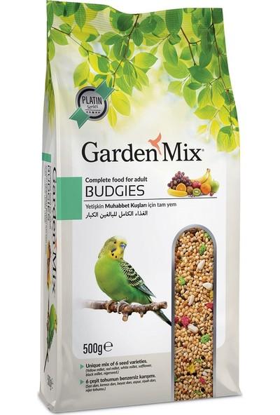Gardenmix Platin Seri Vitaminli Meyveli Muhabbet Kuşu Yemi 500 Gr ( 5 Adet )
