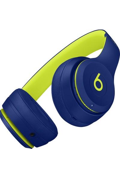 Beats Solo3Bluetooth Kablosuz Kulaküstü Kulaklık - Beats Pop Collection - Pop Indigo MRRF2ZE/A