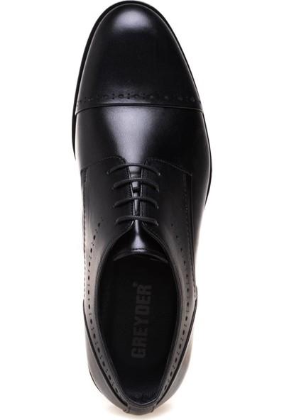 Greyder 63186 Erkek Siyah Deri Klasik Ayakkabı