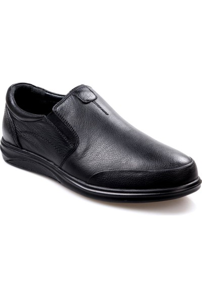 Greyder 66100 Ortapedik(Comfort) Siyah Günlük Erkek Ayakkabı
