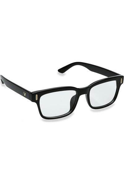 Jwl Bilgisayar Ekran Göz Koruma Erkek Tarz Gözlüğü Siyah