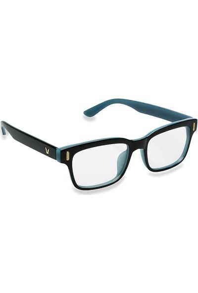 Jwl Bilgisayar Ekran Göz Koruma Erkek Tarz Gözlüğü Mavi