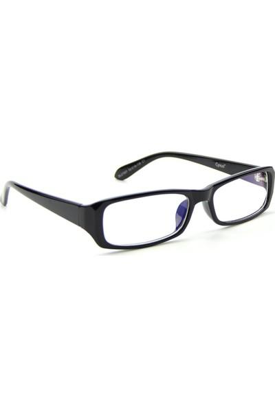 Jwl Bilgisayar Ekran Koruyucu Tarz Kadın Gözlük Anti Mavi Işın Filtreli Ofis Çalışma Gözlüğü Siyah
