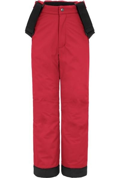 Maier Maxi Çocuk Kayak Pantolonu Kırmızı