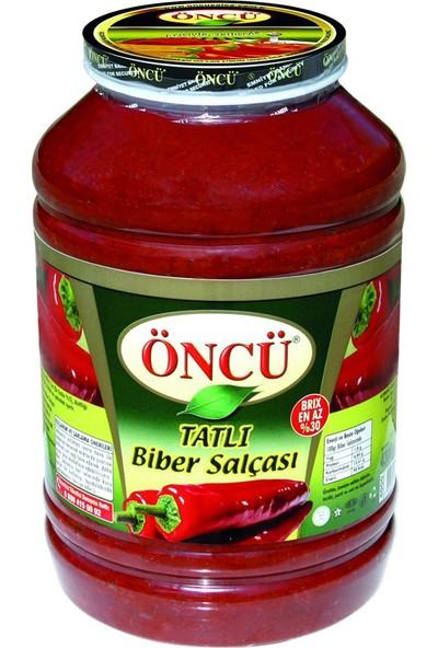Öncü Tatlı Biber Salçası Cam Pet Kavanoz 4300 gr