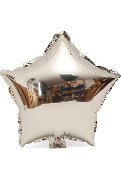 KBK Market 20 cm Gümüş Yıldız Balon