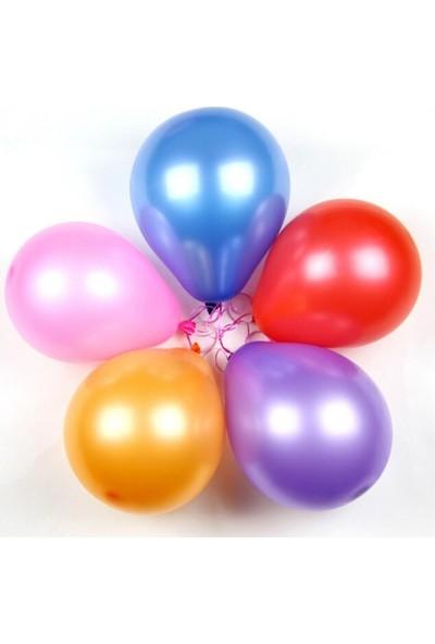 KBK Market İyiki Doğdun Baskılı Lateks Balon Karışık Renk 25 Adet