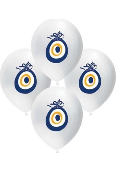 KBK Market Nazar Boncuk Baskılı Balon 100 Adet