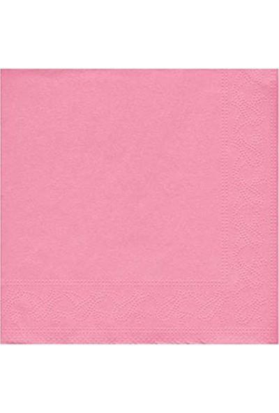 KBK Market 20 Adet Kağıt Peçete Pembe Renk