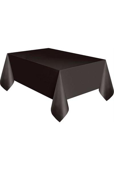KBK Market Siyah Plastik Masa Örtüsü