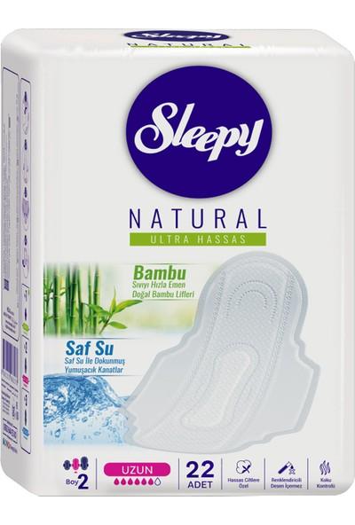 Sleepy Natural Ultra Hassas Ped Uzun 22'li