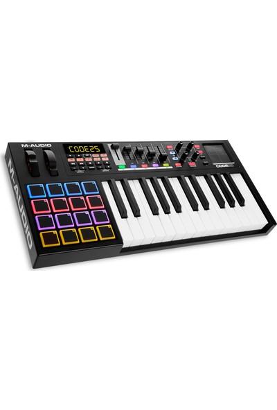 M-Audio Code 25 Black MIDI Klavye