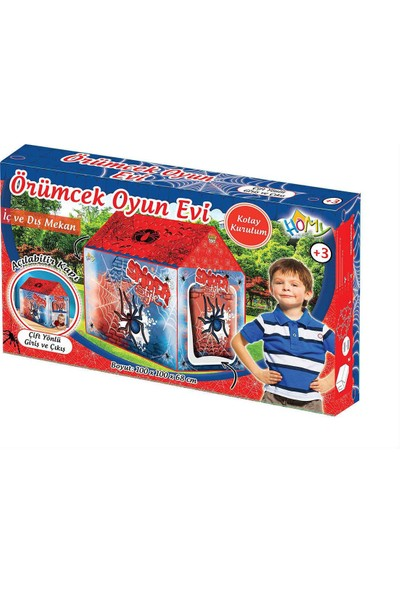 Furkan Toys Spider Örümcek Oyun Çadırı