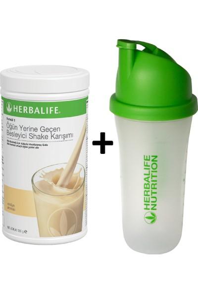 Herbalife Vanilyalı + Shaker Bardak