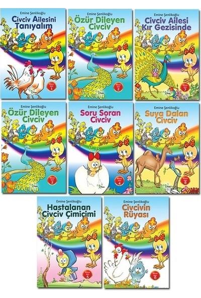 Civciv Ailesi -8 Kitap Set
