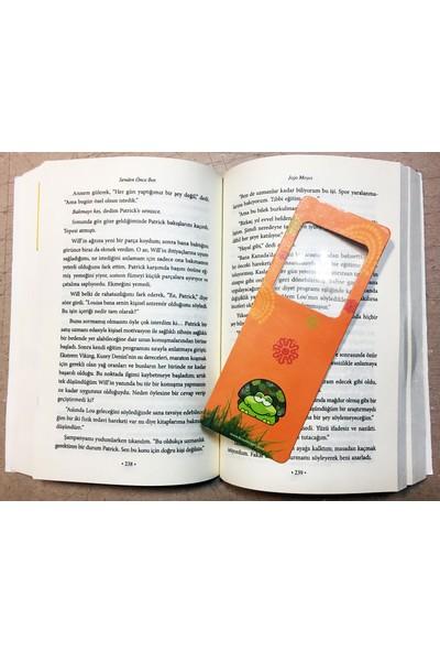 DirektAl Büyüteçli Kitap Ayracı - 4 Defa Büyütür Baykuş