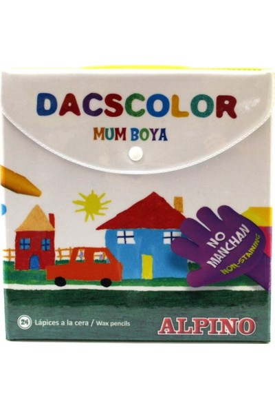 Alpino Maxidacs 15 Renk Mum Boya Dx-050216