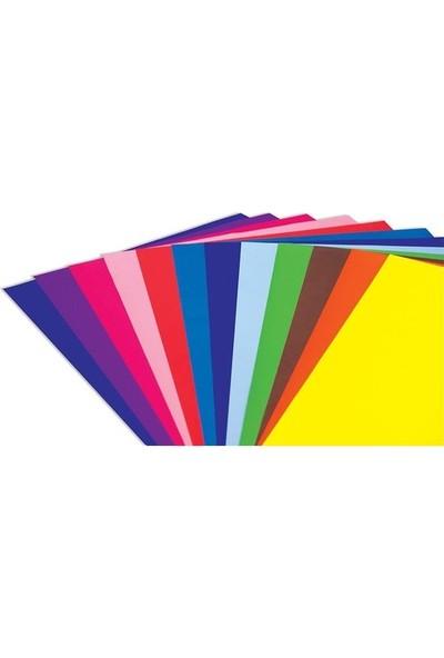 Bafix Fosforlu Fon Kartonu 120 Gr 50X70 Cm Karışık Renk 100 Adet (1 Paket 100 Adet)