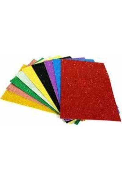 Bafix Simli Eva 50X70 Cm Glitter 10 Lu (1 Paket 10 Adet)