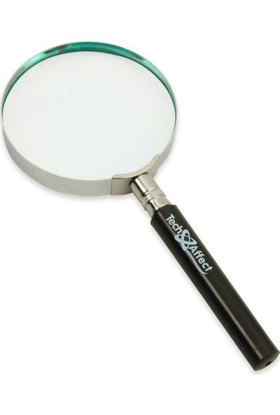Classic Magnifer Saplı Plastik Çerçeveli Büyüteç 90 Mm 8790 Da0007