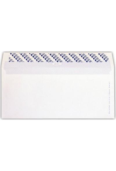 Doğan Buklet Mektup Zarfı Silikonlu 114X162 Mm 110 Gr 500 Lü (1 Paket 500 Adet)