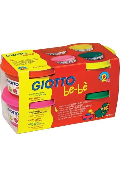 Fila Giotto Oyun Hamuru Bebe 4 Renk Sarı Kırmızı 464902