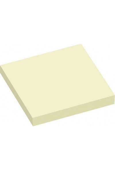 Hopax Stickn Yapışkanlı Not Kağıdı 76X76 Mm Saydam Beyaz 50 Yaprak 4-2171200-5001