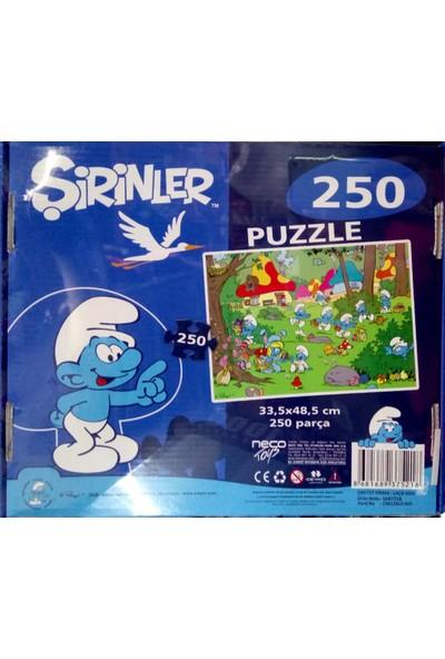 Laço Puzzle Şirinler 250 Parça Srn5218