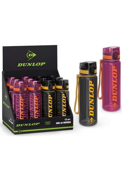 Yaygan Dunlop Şeffaf Matara 500Ml 12914 Karışık Renklerde