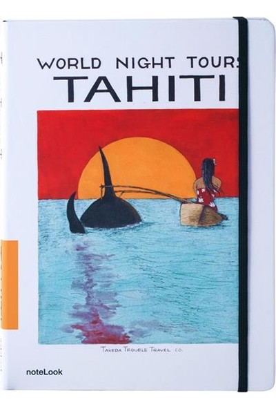 Scrikss A-6 Takeda Tahiti Çizgili Defter T000Dfttktha6A
