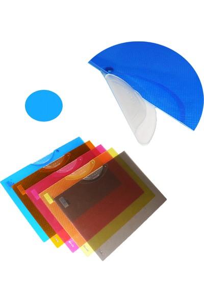 Smato Sırttan Sıkıştırmalı Dosya Mavi