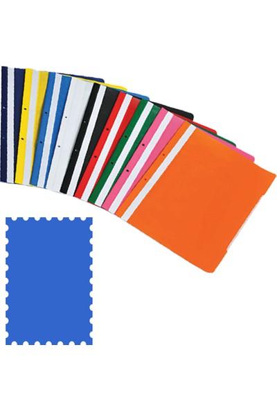 Temat Plastik Telli Dosya Mavi 50 Li 144836 (1 Paket 50 Adet)
