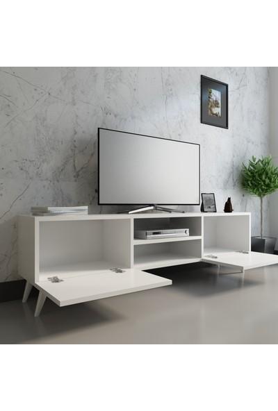 Evmonte Tv Ünitesi Beyaz