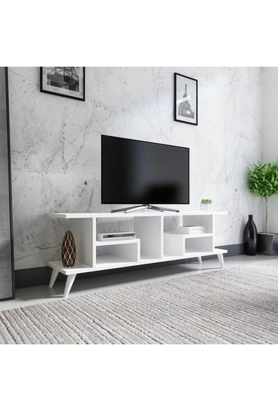 Evmonte Arow Tv Ünitesi Beyaz 1060