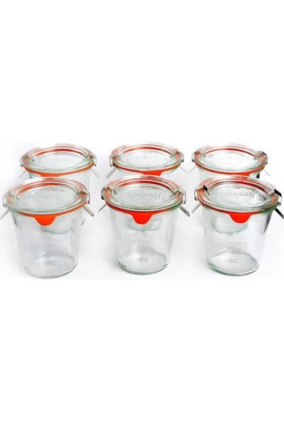 Weck 290 ml Mold Uzun Kavanoz Set (6 Adet) 900