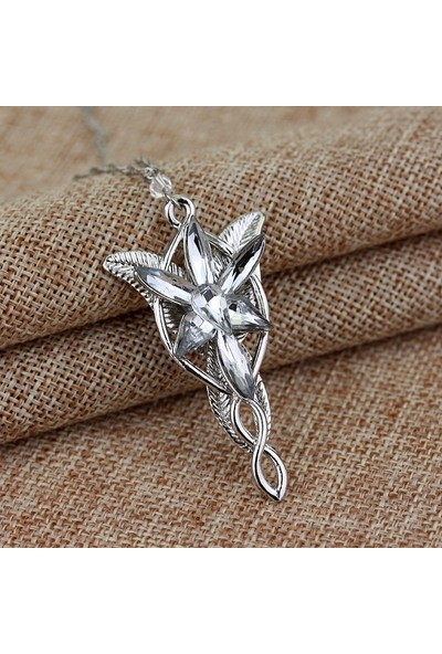 A-Leaf Lord Of The Rings Arwen Evenstar Kolye