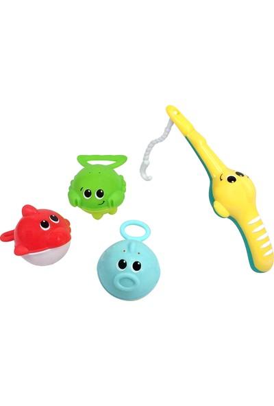 Infantino İlk Balık Tutma Oyunu Banyo Oyuncağı