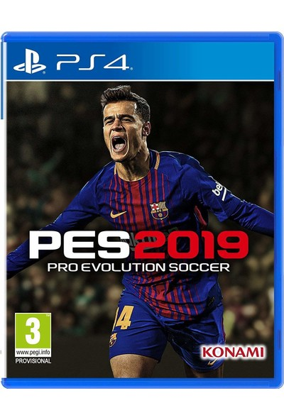 PES 2019 PS4 Oyun-Türkçe Menü