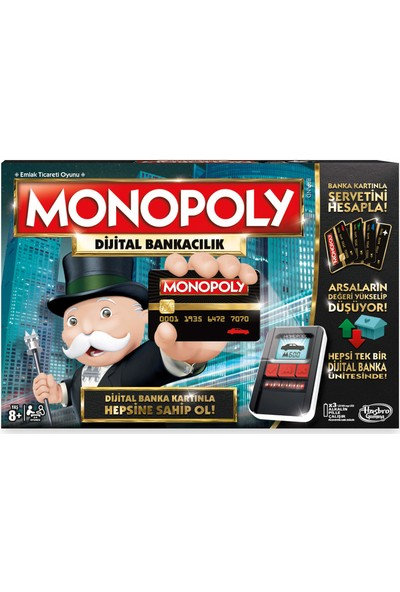 Monopoly B6677 Digital Bankacılık