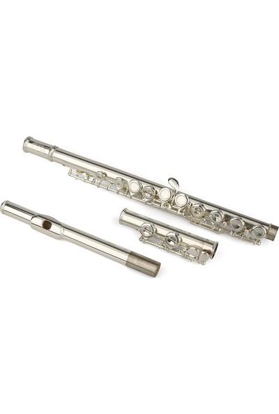 Silver SFL-290ES Gümüş Kaplama Yan Flüt
