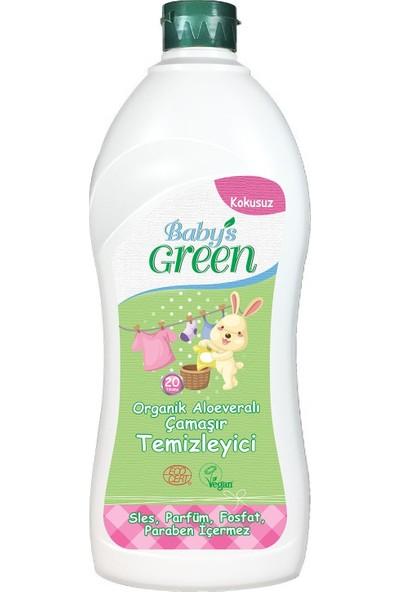 Baby's Green Organik Alo veralı Bebek Çamaşır Deterjanı 1 Lt - Kokusuz