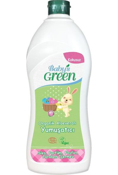 Baby's Green Organik Aloe veralı Bebek Çamaşır Yumuşatıcı - Kokusuz