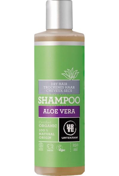 Urtekram Organik Aloe Vera Şampuan - Kuru Saçlar için 250 ml.