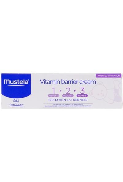 Mustela Vitamin Barrier Cream 1.2.3 Pişik Kremi 100 ml