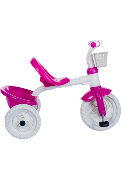 3 Tekerlekli Lüx Çocuk Bisikleti Pembe