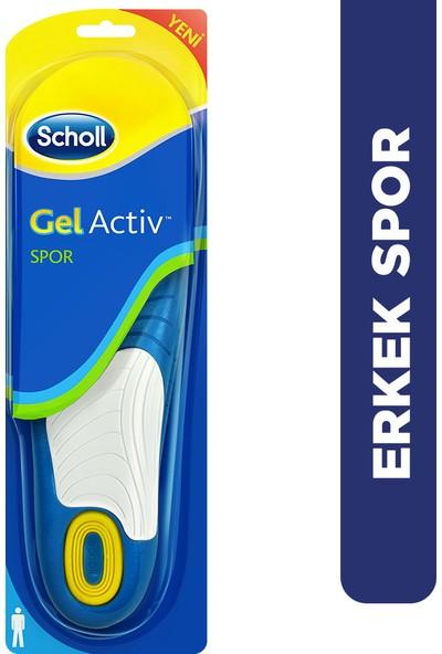 Scholl Gel Aktiv Tabanlık, Erkek - Spor İçin