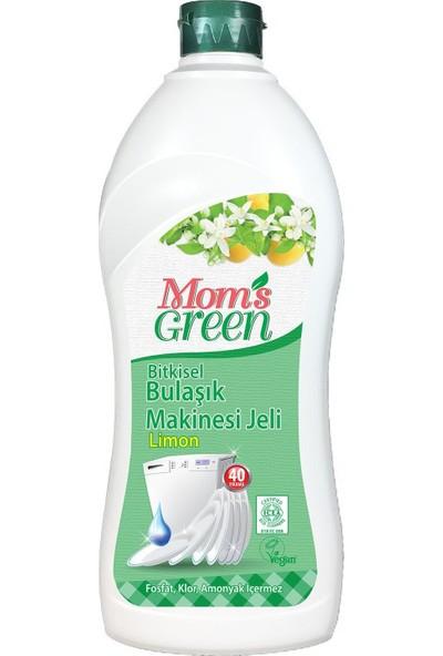 Mom's Green Bitkisel Bulaşık Makinesi Jel Deterjanı - Limonlu