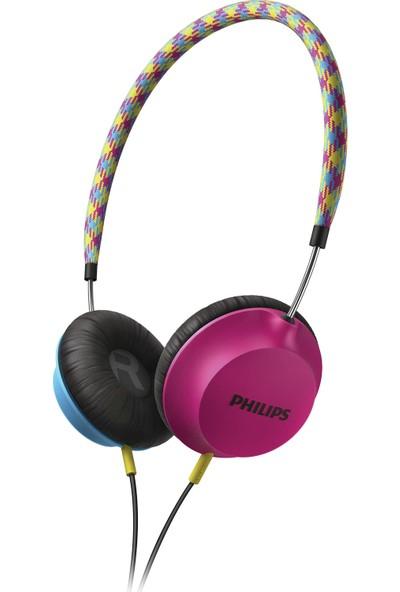 Philips Strada CitiScape SHL5100BP/00 Kulaküstü Mavi Pembe Kulaklık